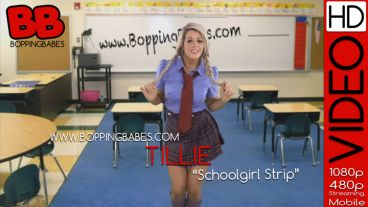 "Tillie ""Schoolgirl Strip"""