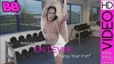 "Kiki Devine ""Pump Your Iron"""