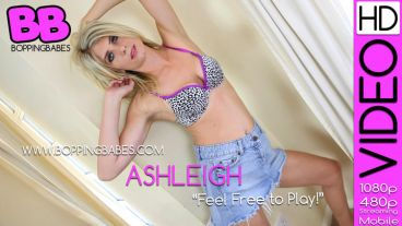 "Ashleigh ""Feel Free To Play"""