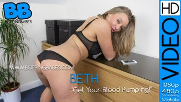 "Beth ""Get Your Blood Pumping"""