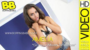 """Amelia """"Glamour Model Striptease"""""""