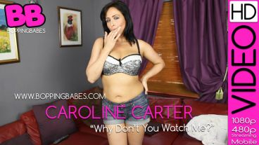 """Caroline Carter """"Why Dont You Watch Me"""""""