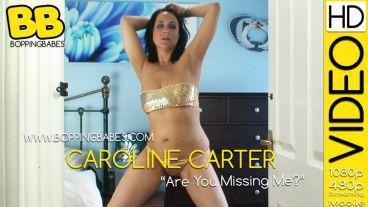 "Caroline Carter ""Are You Missing Me?"""