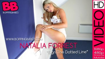 "Natalia Forrest ""Sign The Dotted Line"""