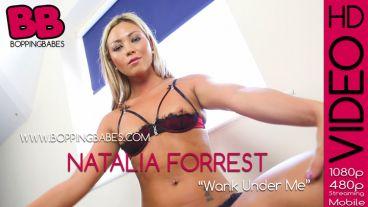 "Natalia Forrest ""WANK Under Me"""