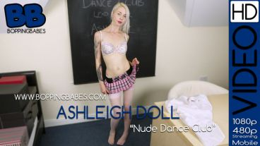"Ashleigh Doll  ""Nude Dance Club"""